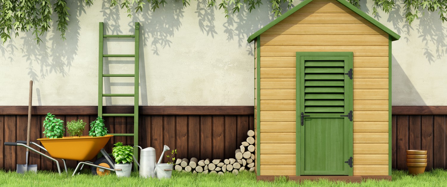 Garden Sheds Jarrow home - wooden huts